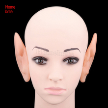 April Fool's Day Halloween Props Shock Toys Tricky Funny Simulation Fake Ears Big Ears Halloween Decorations HW127(China)