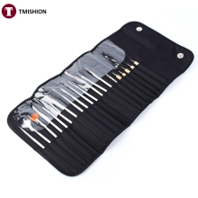 New arrive 20pcs Nail Art Design Painting Dotting Pen Brushes Tool Kit Set Beauty Salon