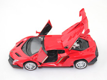 1/32 Alloy Car Model, Die Cast Vehicles, 3 doors, W/Light and Music,Toys Car Four Doors Open, Free Shipping(China)