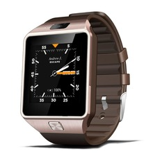 Free shipping Bluetooth4.0 3G WIFI QW09 Android Smart Watch Real-pedometer SIM card Call Wrist Wear Anti-lost Smartwatch Phone