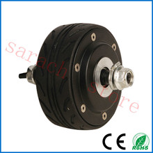 "36v 200W 4"" hub motor wheel ,double shaft electric scooter hub motor ,burshless non-gear hub motor(China)"