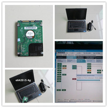for icom hdd 500gb 2017.12 newest software with laptop for dell e6420 i5 cou 4g with battery for bmw diagnostic computer(China)