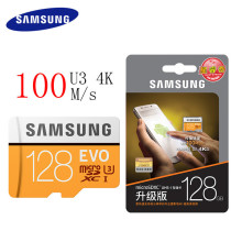 SAMSUNG Microsd Card 128GB 100Mb/s Class10 U3 Micro SD Card Memory Card TF Flash Card