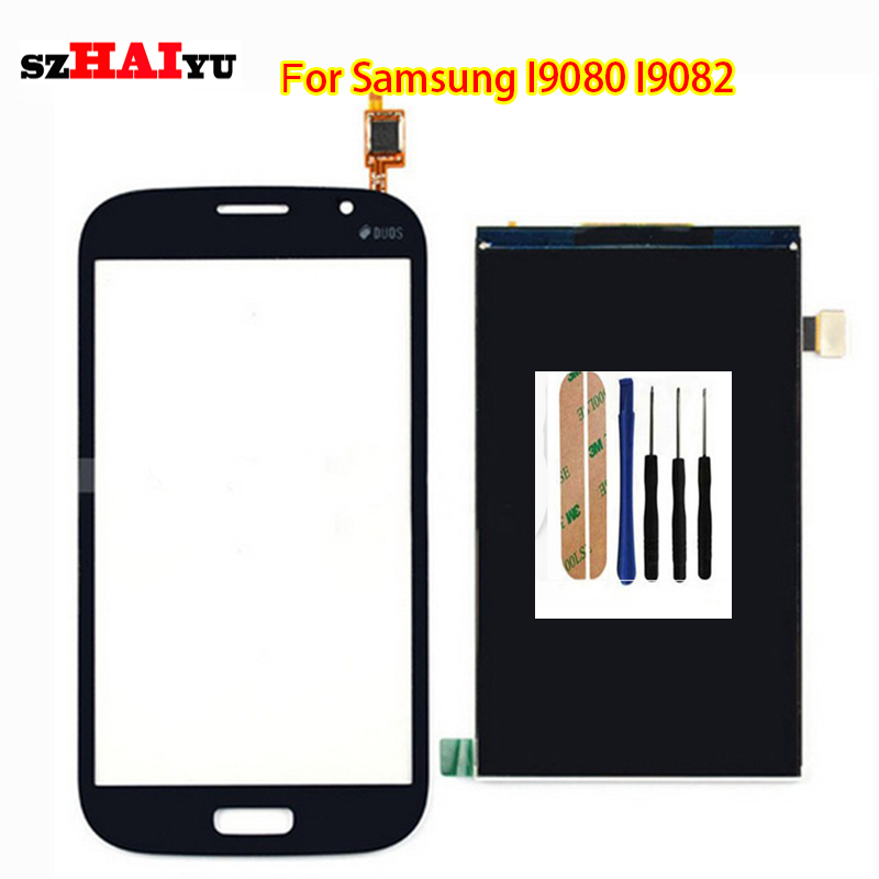 Free Shipping Test Original LCD Touch Panel for Samsung Galaxy Grand I9080 I9082  LCD Display Touch Screen Digitizer Panel<br><br>Aliexpress