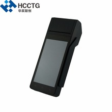HCCZ90 Touch Screen mobile pos terminal credit card reader Machine / barcode scan(China)