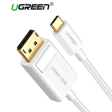 Ugreen USB C DP Cable 4K Resolution USB Type-C to DisplayPort for MacBook Pro Samsung S8 Huawei Mate 10 USB-C to DP Cable(China)
