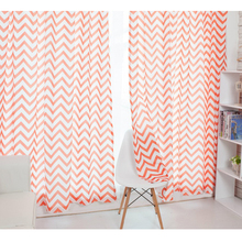2017 new design geometry pattern Window curtain use Bedroom use curtain for livingroom(China)