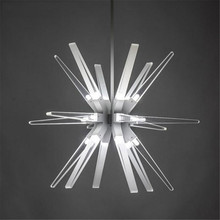 Modern LED Chandeliers Nordic Restaurant/Bar/Villa Decoration Chandelier Lighting G4 led lustres hanging Lamps Pendant 220V(China)