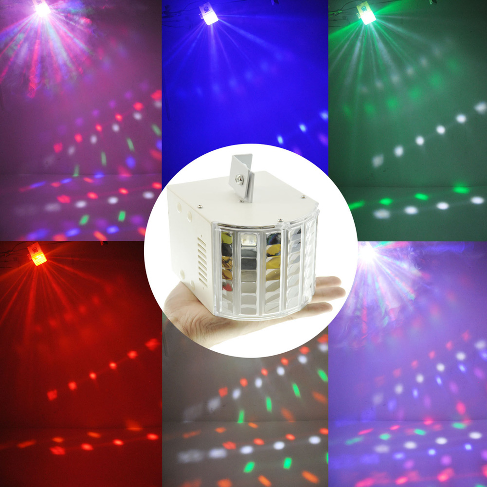18W Auto Sound Control LED RGBW DMX Ambient Lights Bar DJ Christmas Party Stage Lighting Dance Show Effect Lights(US)<br>
