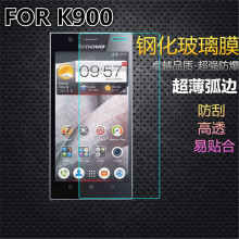 For Lenovo K900 Tempered Glass Golden Warrior 5.3 inch Screen Protector Toughened Protective Film With Retail Package(China)