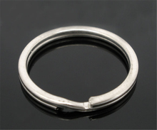 DoreenBeads 20PCs Silver Tone Split Rings Key Rings 25x1.7mm Findings (B03294), yiwu(China)