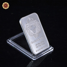 Engraved .999 Fine Silver One Troy Ounce Scottsdale Silver As Souvenir Bullion(China)