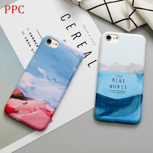 Buy bule sea whale phone Cases iphone 6 6s 6plus 7 7Plus Scrub soft silicon case back cover iphone 8 8plus for $3.39 in AliExpress store