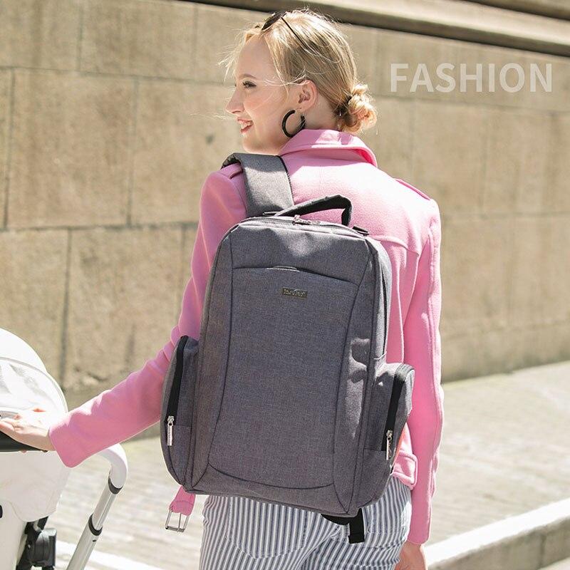 Multi-functional large-capacity shoulders Mummy  diaper  backpack mother baby  shoulder waterproof nappy bag<br>