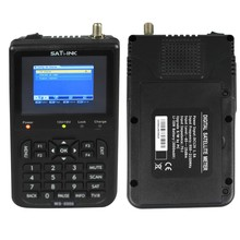 "Anewkodi Satlink WS-6906 3.5"" DVB-S FTA Digital Satellite Meter Satellite Finder WS 6906 Stlink with Bulit-in Battery"