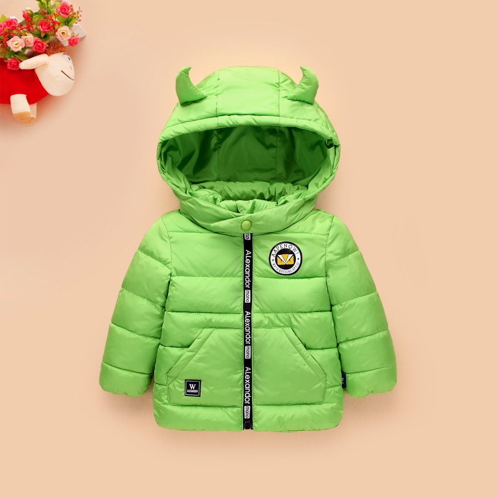 Winter jacket for girls boys coat high quality cotton parkas children clothing kids girls outerwear infant winter coat warm new(China)