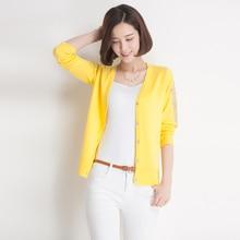 Buy yellow cardigan women and get free shipping on AliExpress.com