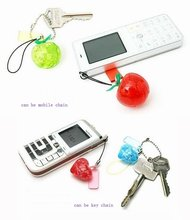 DIY TOY mobile phone lanyard key lanyard Mini 3D Crystal Puzzle game +Educational toy,Wholesale and Retail(China)