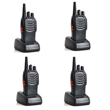 4pcs Baofeng BF-888S single band UHF 400-470MHz cheapest two way radio transceiver for Ham,hotel,drivers 2w bf888s(China)