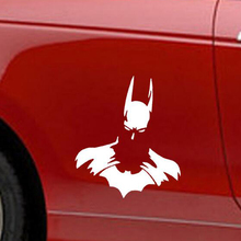 Cool Batman PVC Stickers On Car Large 19.6cm *17cm Waterproof Car Styling Free Shipping Reflective Car-styling