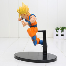 19cm Dragon Ball Z Action Figures Dragonball Figure Son Goku Gokou Super Saiyan 2 Dbz PVC figure Toys Budokai Tenkaichi 6(China)