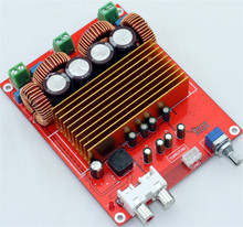 TAS5613 amplifier board 2.0 channel class D OPA1632DR 2*150W 100V 470UF with Potentiometer better TPA3116(China)
