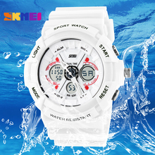 Buy 2017 Montre Women Sports LED Watches Man Luxury Brand LED wristwatches Dual Time Analog Digital Military Watch Men Sport Watch for $10.30 in AliExpress store