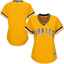 MLB Women's Pittsburgh Pirates Gold Alternate Cool Base Team Jersey(China)