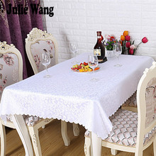 Julie  Rectangle Polyester Floral Tablecloth Tablecloths Hotel Restaurant Home Kitchen Table Cover Table Cloth 120x180cm