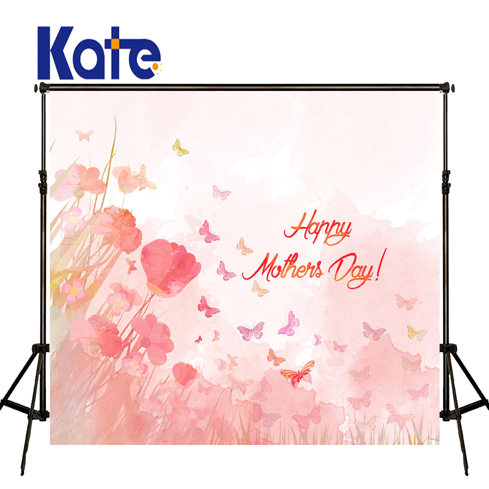 Kate Happy Mothers Day Photography Backdrops Spring Flower Photography Backdrops Large Size Seamless Photo <br>