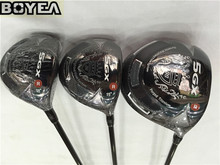 Brand New 3PCS Boyea Nickent 5GX Wood Set Golf Woods Golf Clubs Driver + Fairways R/S-Flex Graphite Shaft With Head Cover