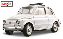 Maisto Bburago 1:18 1968 Fiat 500 L 500L Diecast Model Car Toy New In Box Free Shipping