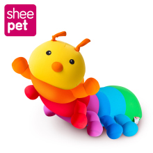 Sheepet Millennium Bug Pillow Cushion Doll toys colorful Caterpillars Doll Plush Toys for kids gift High Quality(China)