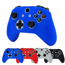Bevigac Silicone Protective Joystick Joypad Gamepad Joy Game Pad Case Skin Cover for Microsoft Xbox X Box One Slim Controller