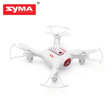 Super Mini Pocket Design Drones SYMA X21 Mini RC Drone 2.4GHz 4CH 4-Axis Gyro RTF Drones 360-Degree Rotation Flying Helicopter(China)