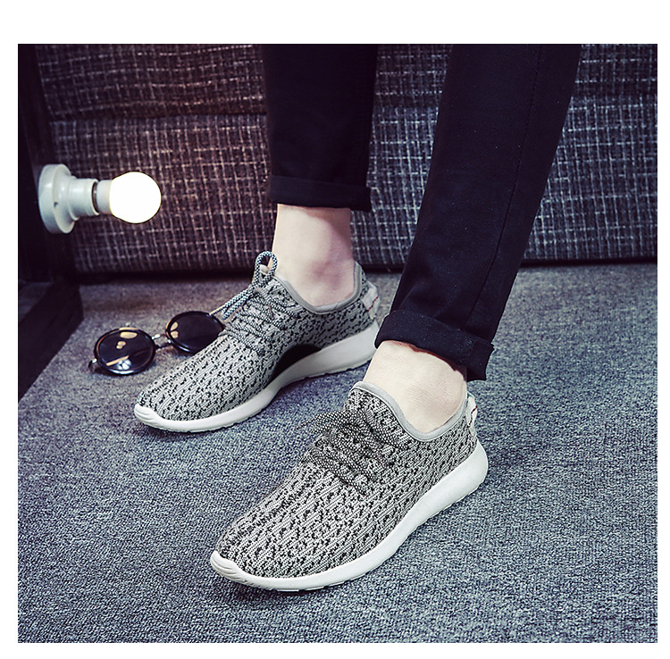 New Fashion Brand Designer Mens Casual Shoes Air Mesh Canvas Trainers for Men Outdoor Sport Walking Breathable Shoes Male Flats<br><br>Aliexpress