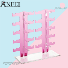 Anfei Glasses Rack Clear Acrylic Glasses Display Glasses Holder Makeup Organizer Accessories Holder Glasses Stand Display A108(China)
