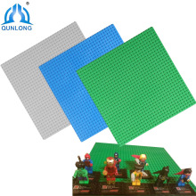 Qunlong Classic Base Plates Plastic Bricks Baseplates Compatible Legoe Major Brands Building Blocks Construction Toys 32*32 Dots(China)