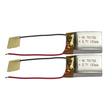 Hiinst 2PCS 3.7V 180mAh Lipo Battery Spare Part  for SYMA S107G S109G S111G mjx X900 X901 Remote Control RC Quadcopter