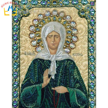 Diy 3d diamond embroidery painting needlework home decoration religion mosaic pictures of rhinestones icon religions items DD007