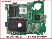 MWXPK 0MWXPK CN-0MWXPK Laptop Motherboard for dell inspiron N5110 DDR3 8 Video Memory mainboard(China)