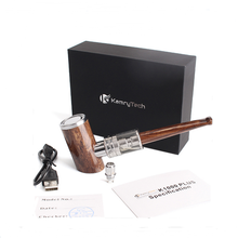 100% Original Kamry E-Pipe kit 1000mAh Smoking Hookah Pen Wooden Design E Pipe K1000 Plus Electronic Cigarette Hookah