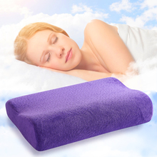 5 Colors Best Comfort Memory Foam Pillow With Cases for Kids Adults Sleeping Bed Pillows Bed Rest Bedding pillow(China)