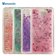 Soft phone cases sFor Fundas Huawei Y5II Y5 2 Huawei Y6 II Compact case For Honor 5A LYO-L21 Liquid Glitter Sand TPU case cover(China)