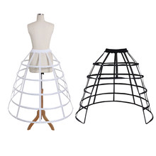 popular bustle skirt buy cheap bustle skirt lots from china bustle Square Dance Petticoats cosplaydiy lady s rare medieval crinoline cage paniner skirt hoop women ball gown 5 hoop bustle petticoat