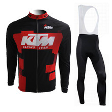 Buy 2017 Winter Fleece Thermal Bicycle Cycling Clothing Sport Wear Jersey Pro Team Ropa Ciclismo Maillot Jersey Bike Clothes Sets for $47.99 in AliExpress store