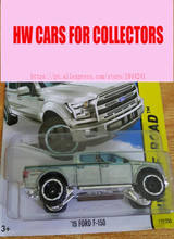 Alloy Mini Roadster Diecast Cars silver 15 ford f150 Models For Collection Wholesale Metal Cars Hot 1:64 Cars wheels