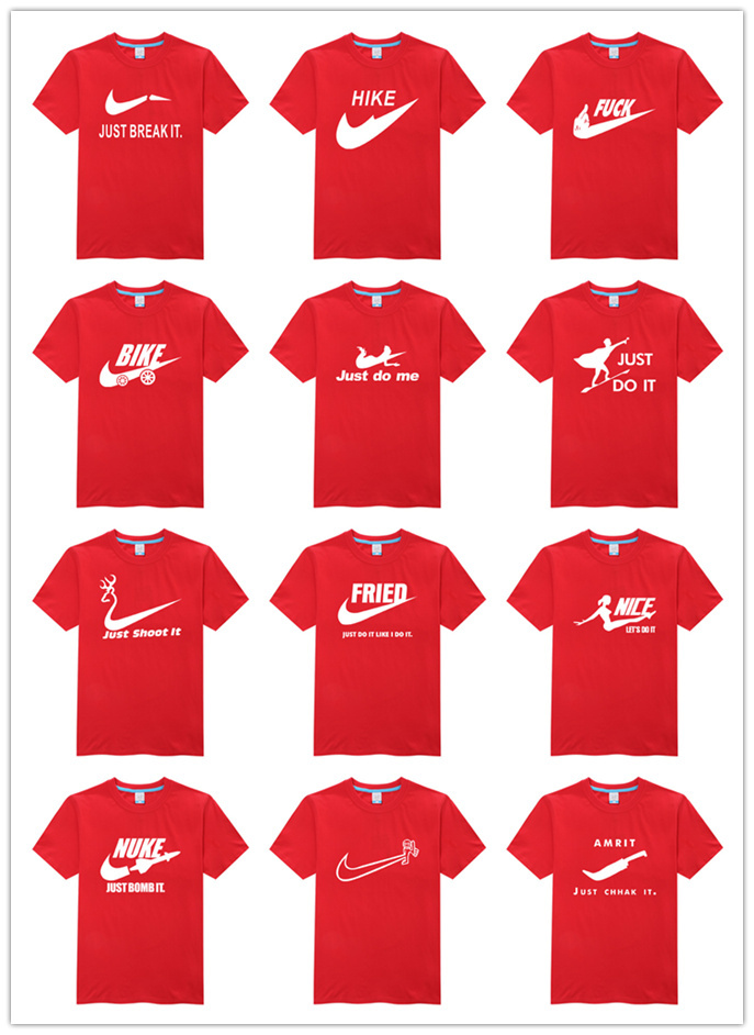 Hot S Brand Logo Shirt High Quality Best Cool Men Original T Glowed Fashion Clothing Top Er Red In Shirts From