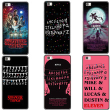 TV Stranger Things Christmas Lights Hard PC Phone Case For Huawei Ascend P8 P8 Lite P9 P9 Lite P10 P10 Plus P8 Lite 2017 Cover(China)
