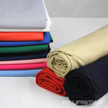 Buulqo New arrival 50*155cm stretchy cotton knitted fabric for legging pants swimsuits dress material(China)